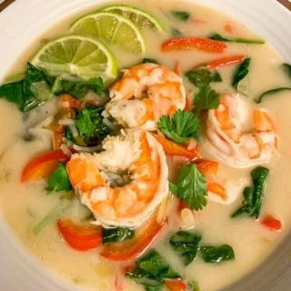 Lemongrass Shrimp Soup.  https://thefinisheddish.com/2021/02/07/lemongrass-shrimp-soup/. #soup.  #thaifood