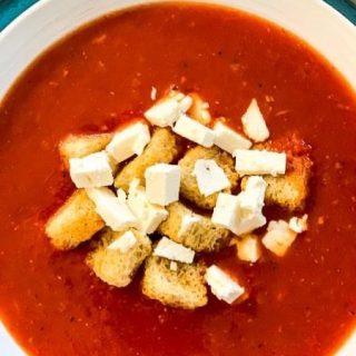 Roasted Tomato Soup.  https://thefinisheddish.com/2020/12/06/roasted-tomato-soup/  #soup