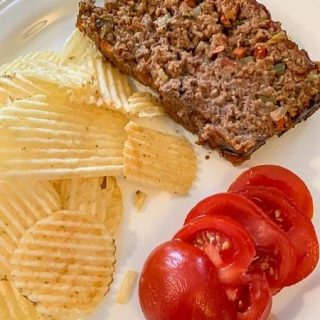 Garden Meatloaf.  https://thefinisheddish.com/2021/04/17/garden-meatloaf/  #dinner.