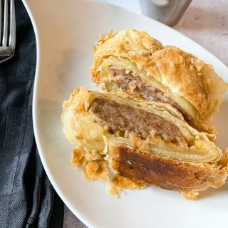 Sausage Roll  https://thefinisheddish.com/2020/03/22/sausage-roll/  #food  #recipes #easyrecipes  #lunch